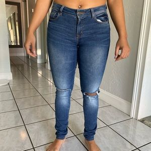 Charolette Russe Ripped Jeans